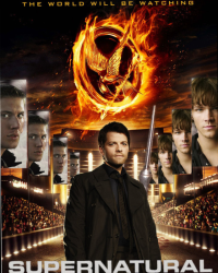 Supernatural AU The Hunger Games