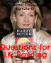 Questions for J.K Rowling