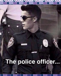 The Police Officer...