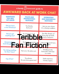 Teribble Fan Fiction