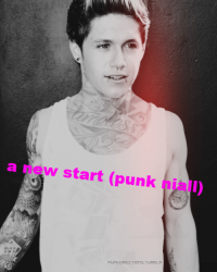 a new strat (punk niall)