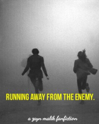 running away from the enemy  ➳ [z.m. love story/au]