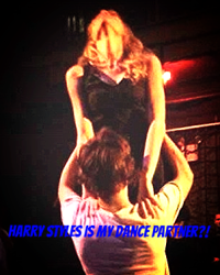 Harry Styles is my dance partner?!