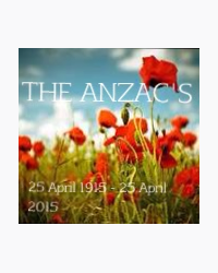 For the ANZAC'S