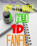 How To Write A Good 1D Fanfic