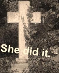 She did it.