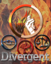 DIVERGENT writing competition - My cover