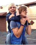 In love with Ross and Rocky Lynch.