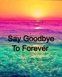 Say Goodbye to Forever