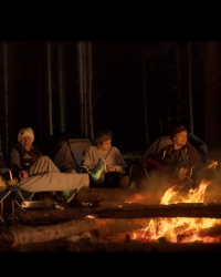 Camping with 1D