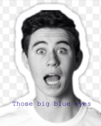 Those Big blue eyes