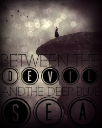 Between the Devil and the Deep Blue Sea Alternative Cover 2 *RUNNER UP*