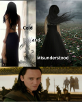 Cold and Misunderstood (Avengers Loki Love Story AU)