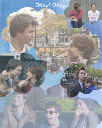 Alternate fault in our stars movie poster