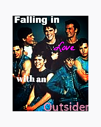 Falling in love with an outsider (The Outsiders Movella)