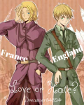Love or Hate? (Hetalia - FrUk)