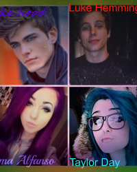 Beautiful Disaster *Luke Hemmings LS* (WARNING: there are gays in story ) -COMPLETED-