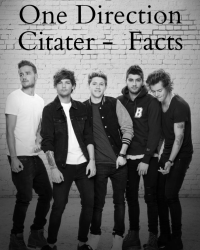 One Direction Citater og Facts *Færdig*