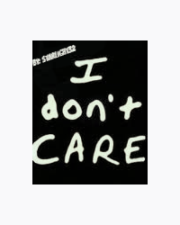 I really don't care