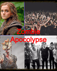 Zombie apocalypse- 1D imagine