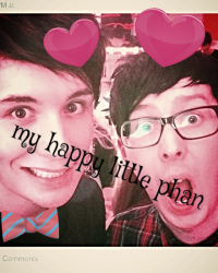 My happy little phan