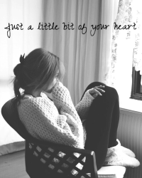 Just a little bit of your heart l One Direction