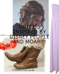 Outfits inspired by Disney Characters and More!