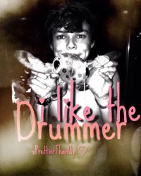I like the drummer//ON HOLD