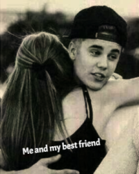 Me and my best friend - ♪Justin Bieber♪
