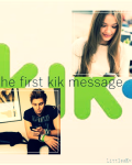The first Kik message | Luke Hemmings