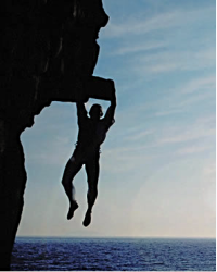 why hanging off cliffs is good for you (probably)