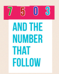 7503 and the numbers that follow