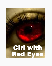 Girl with Red Eyes