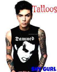 Tattoos (Andy Biersack Fanfiction) - Self Harm and Promise