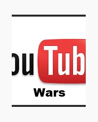 YouTube war(you tubers fight to get the YouTube play button.)