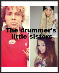 The drummer's little sisters