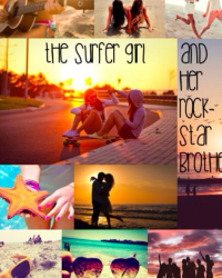 The Surfer girl and her Rockstar Brother