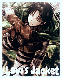 Levi's Jacket- Attack On Titan Yaoi Gay