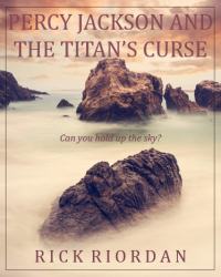 Percy Jackson and the Titan's Curse - Cover