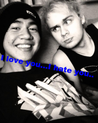 I hate you...But I love you.... ^Malum^