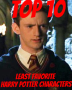 Top 10 Least Favorite Harry Potter Heroes