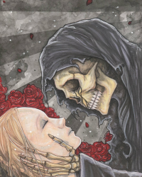The girl who Death loved