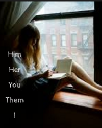 Him, her, them, you, I.