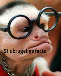 51 ubrugelige facts