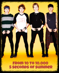 From 10 to 10.000 - 5 Seconds of Summer