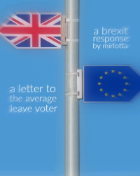 A Letter to the Average Leave Voter