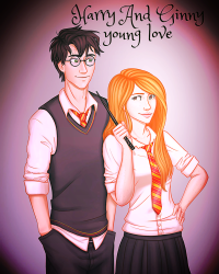 Harry+Ginny - Young Love