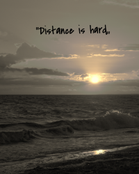 Distance can be hard