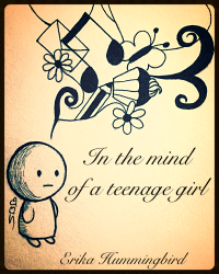 In the mind of a teenage girl