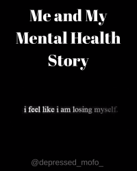 Me and My Mental Health Story